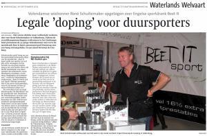 Legale Doping Voor Duursporters