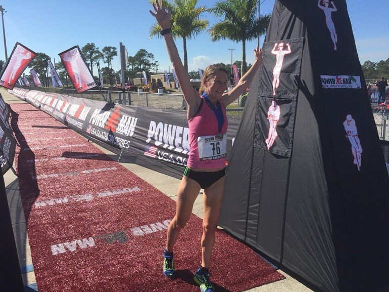 Miriam Van Reijen Wint Powerman In Florida