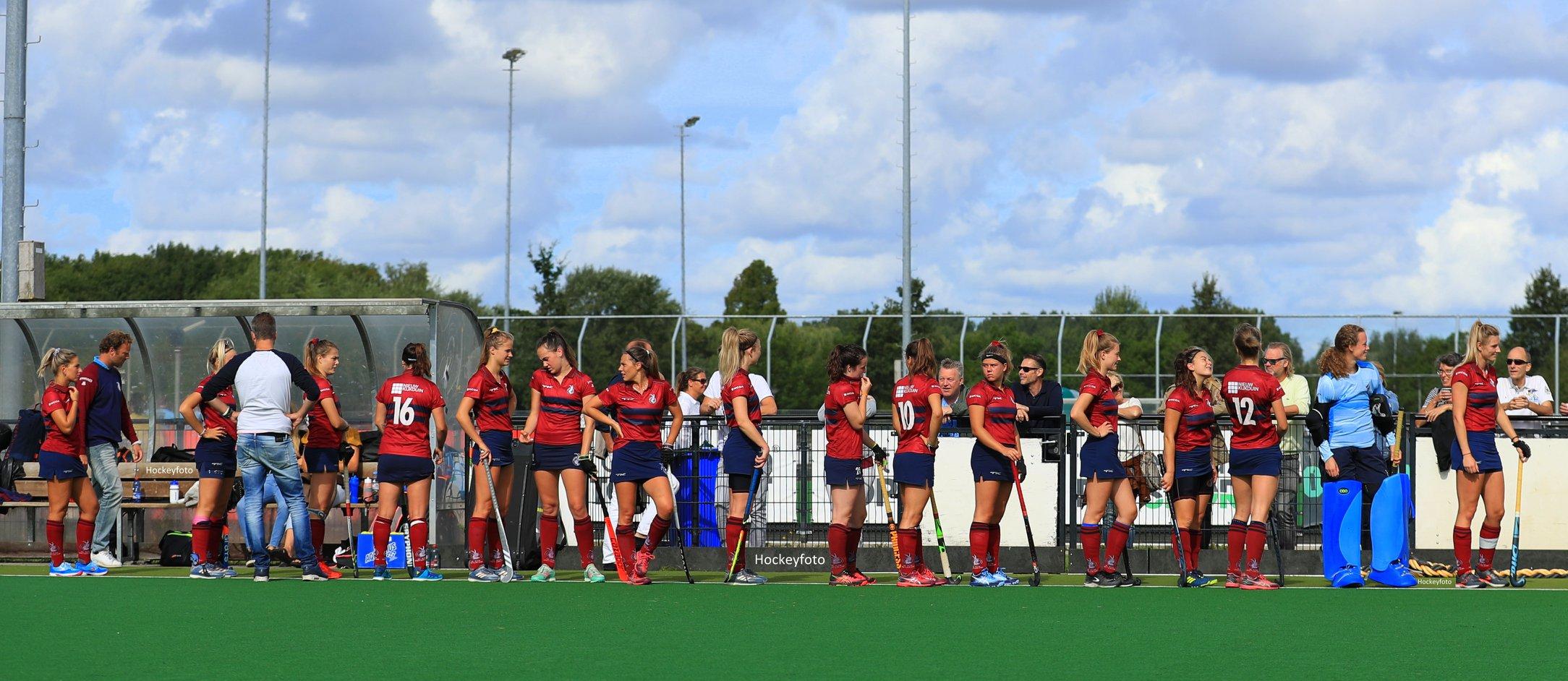 Klein Zwitserland (KZ) Dames 1 – Den Haag – 17-9-2019